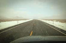 Cold and lonely road