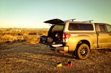 """Slab City"" campsite"