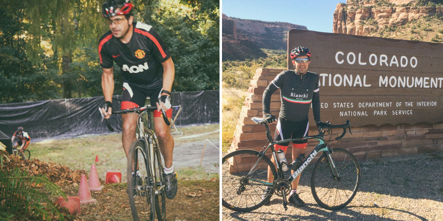 Cyclocross racing in Portland and riding the Tour of the Moon through Colorado.